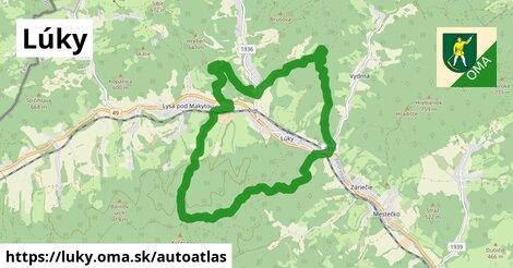 ikona Mapa autoatlas  luky