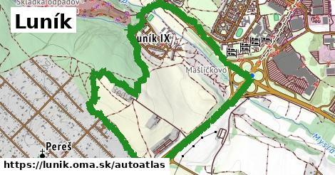 ikona Mapa autoatlas  lunik