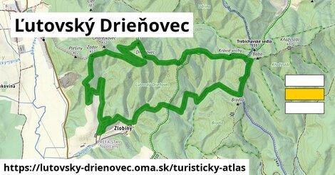ikona Turistická mapa turisticky-atlas  lutovsky-drienovec