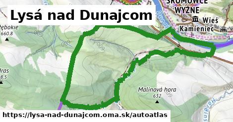 ikona Mapa autoatlas  lysa-nad-dunajcom