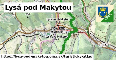 ikona Turistická mapa turisticky-atlas  lysa-pod-makytou