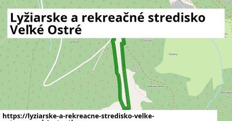 ikona Mapa autoatlas  lyziarske-a-rekreacne-stredisko-velke-ostre