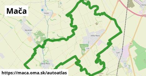 ikona Mapa autoatlas  maca