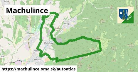 ikona Mapa autoatlas  machulince
