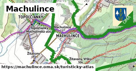 ikona Turistická mapa turisticky-atlas  machulince