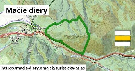 ikona Turistická mapa turisticky-atlas  macie-diery
