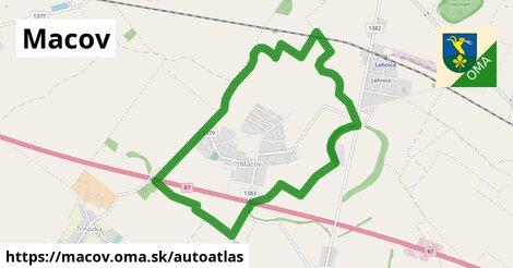 ikona Mapa autoatlas  macov