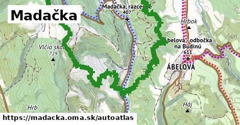 ikona Mapa autoatlas  madacka