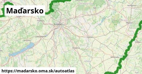 ikona Mapa autoatlas  madarsko