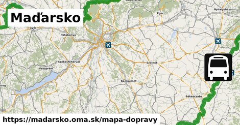 ikona Mapa dopravy mapa-dopravy  madarsko