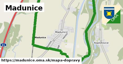 ikona Mapa dopravy mapa-dopravy v madunice