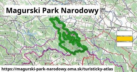 ikona Turistická mapa turisticky-atlas  magurski-park-narodowy