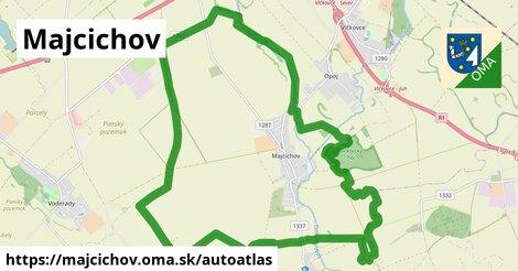 ikona Mapa autoatlas  majcichov