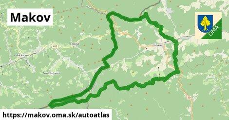ikona Mapa autoatlas  makov