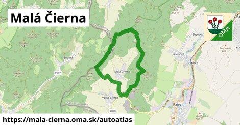 ikona Mapa autoatlas  mala-cierna