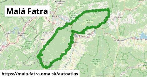 ikona Mapa autoatlas  mala-fatra