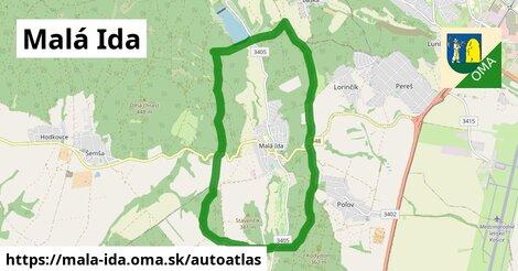 ikona Mapa autoatlas  mala-ida