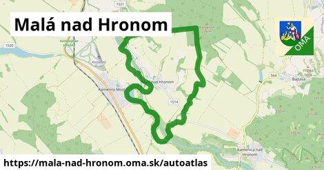 ikona Mapa autoatlas  mala-nad-hronom