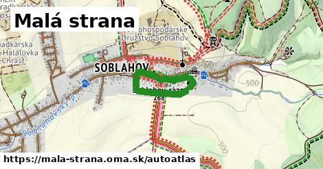 ikona Mapa autoatlas  mala-strana