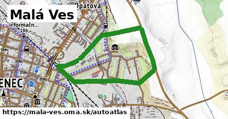 ikona Mapa autoatlas  mala-ves