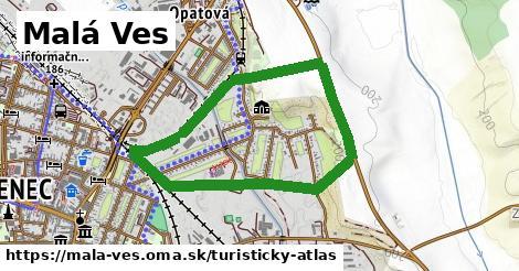 ikona Malá Ves: 0m trás turisticky-atlas v mala-ves