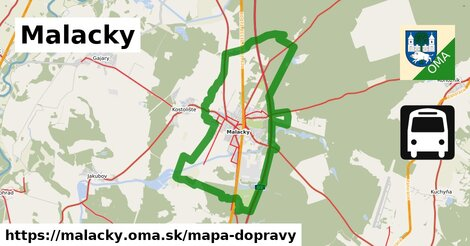 ikona Mapa dopravy mapa-dopravy  malacky