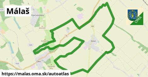ikona Mapa autoatlas  malas