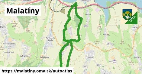 ikona Mapa autoatlas  malatiny