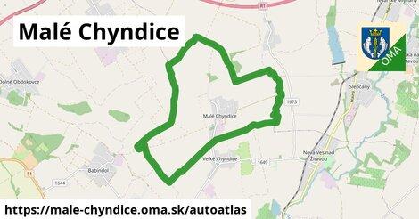 ikona Mapa autoatlas  male-chyndice