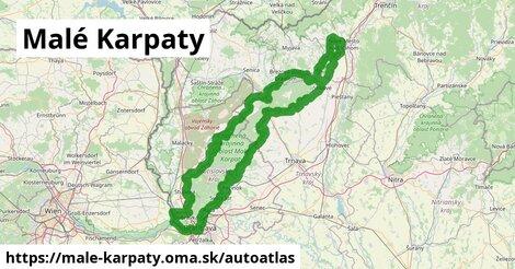 ikona Mapa autoatlas  male-karpaty