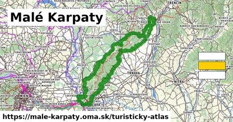 ikona Turistická mapa turisticky-atlas  male-karpaty