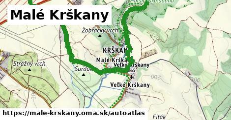 ikona Mapa autoatlas  male-krskany