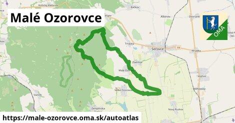 ikona Mapa autoatlas  male-ozorovce