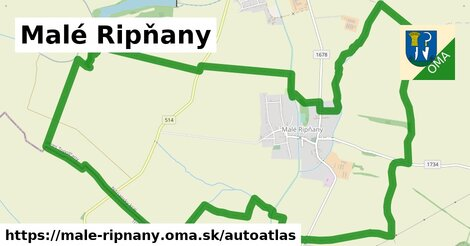 ikona Mapa autoatlas  male-ripnany