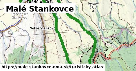 ikona Malé Stankovce: 1,96km trás turisticky-atlas  male-stankovce
