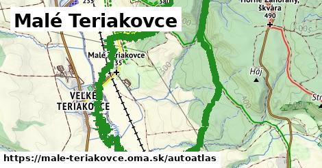 ikona Mapa autoatlas  male-teriakovce