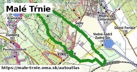 ikona Mapa autoatlas  male-trnie