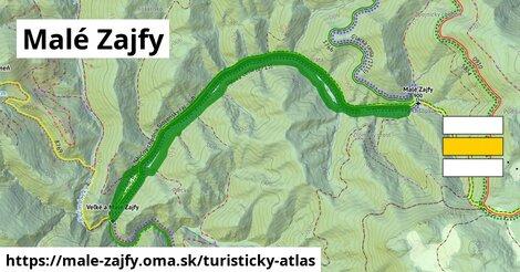 ikona Turistická mapa turisticky-atlas  male-zajfy