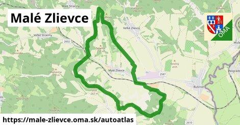 ikona Mapa autoatlas  male-zlievce