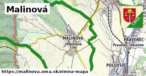 ikona Zimná mapa zimna-mapa  malinova