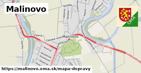 ikona Mapa dopravy mapa-dopravy  malinovo