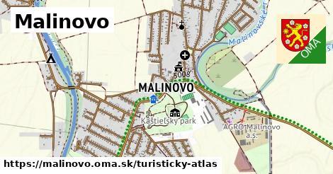 ikona Turistická mapa turisticky-atlas  malinovo