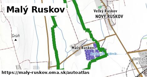 ikona Mapa autoatlas  maly-ruskov