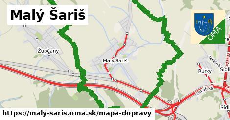 ikona Mapa dopravy mapa-dopravy v maly-saris