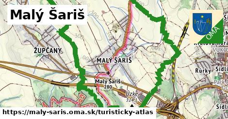 ikona Turistická mapa turisticky-atlas  maly-saris