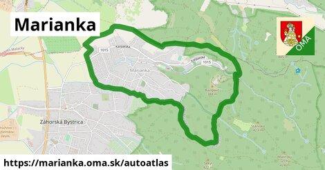 ikona Mapa autoatlas  marianka