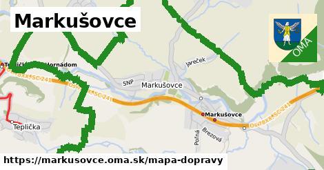 ikona Mapa dopravy mapa-dopravy  markusovce
