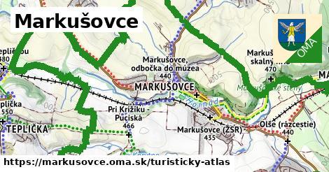 ikona Turistická mapa turisticky-atlas  markusovce