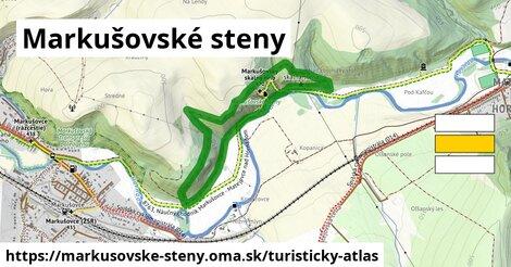 ikona Turistická mapa turisticky-atlas  markusovske-steny