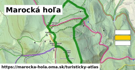 ikona Turistická mapa turisticky-atlas  marocka-hola
